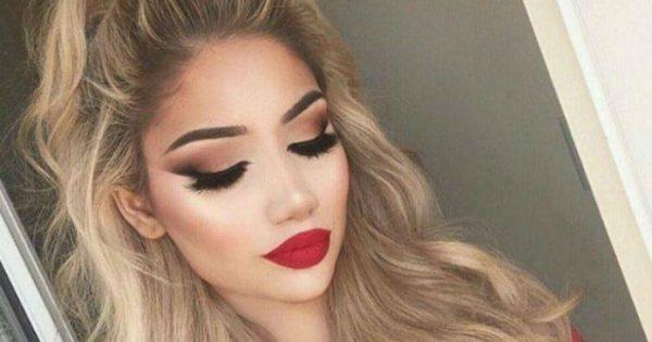 Το ιδανικό μακιγιάζ για να φορέσεις κόκκινο κραγιόν από το πρωί! Όλα τα βήματα για το σωστό make up look…