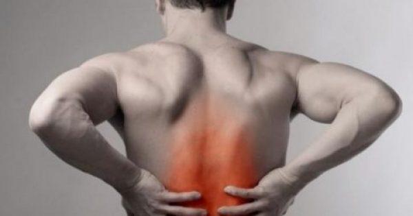 Πόνος στην πλάτη: Ποιες είναι οι συνηθέστερες αιτίες;