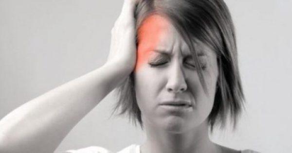 Υποφέρετε από πονοκέφαλο; – Κάντε μασάζ σε αυτό το σημείο για να σας περάσει! (φωτό)
