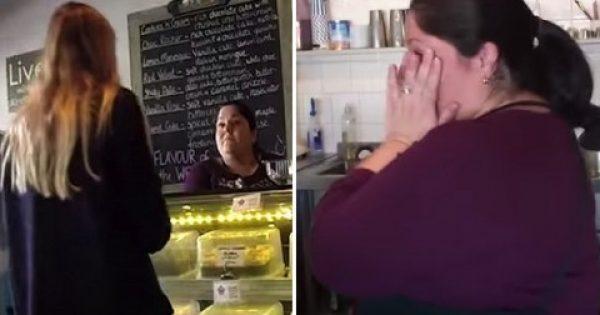 Μια πελάτισσα της επιστρέφει ένα κουτί με μπαγιάτικα γλυκά…Μη χάσετε από τα μάτια σας το κουτί!