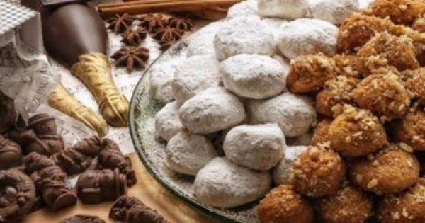 ΒΙΝΤΕΟ – Πόσο παχαίνουν μελομακάρονα και κουραμπιέδες