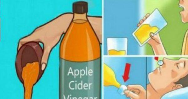 Η κατανάλωση μηλόξυδου πριν πάτε για ύπνο, θα σας αλλάξει τη ζωή ριζικά!