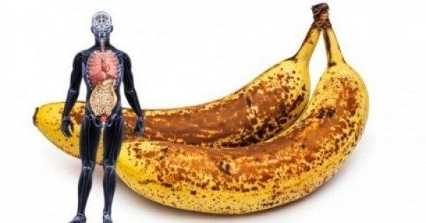 Οι Ευεργετικές Ωφέλειες στην Υγεία μας, Όταν Καταναλώνουμε Μπανάνες με Καφέ Κηλίδες