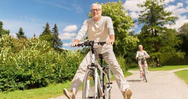 Oγδοντάρηδες με ανοσοποιητικό εικοσάρη χάρη στο ποδήλατο!!!