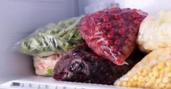 Πόσο αντέχουν βασικά τρόφιμα στην κατάψυξη