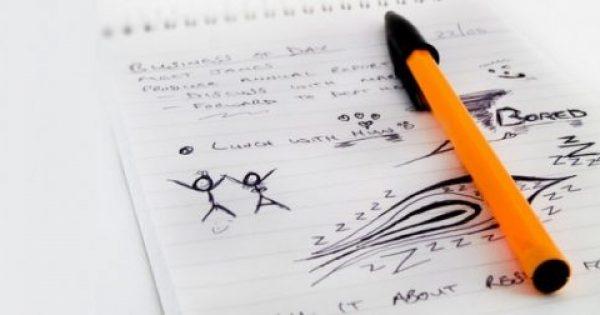 Τι δείχνουν τα σχέδια που κάνετε αυθόρμητα στο χαρτί για την ψυχική σας υγεία