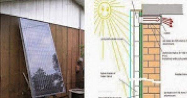 Φτιάξτε μόνοι σας Σύστημα Ηλιακής Θέρμανσης από αλουμινένια κουτάκια αναψυκτικού.