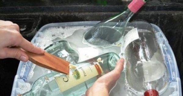 Παίρνει τα Παλιά της Μπουκάλια και τα μετατρέπει σε κάτι που ΟΛΟΙ θα θέλαμε!
