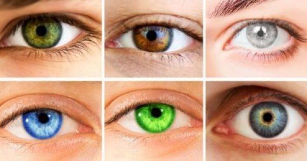 Εσύ το ήξερες; Το Χρώμα των Ματιών σου αποκαλύπτει τα Πάντα για τον Χαρακτήρα σου. Πολύ έγκυρες Πληροφορίες!