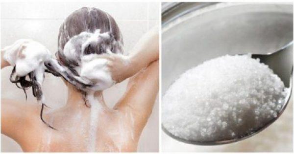 Πριν Λουστείς, Βάλε μία Κουταλιά Ζάχαρη στο Σαμπουάν σου και θα μας Θυμηθείς!