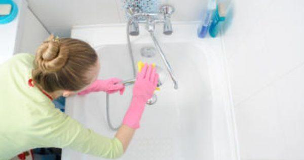 Το μεγάλο λάθος που κάνουμε όταν καθαρίζουμε τη μπανιέρα