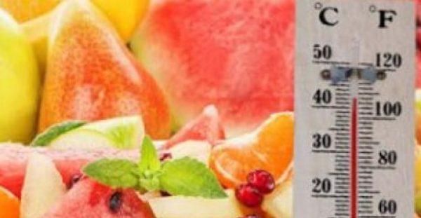 Τι να τρώτε και τι να αποφύγετε σε περιόδους καύσωνα