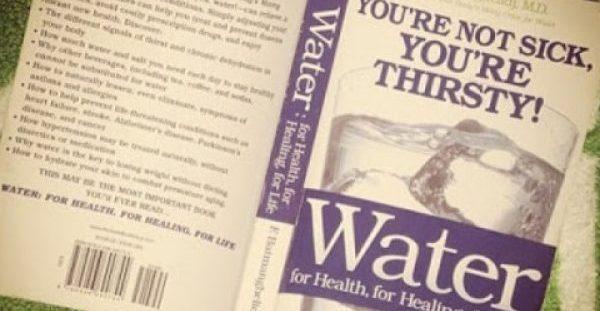 «Δεν είσαι άρρωστος απλά διψασμένος! Ποιες ασθένειες υποχωρούν με σωστή ενυδάτωση!!»