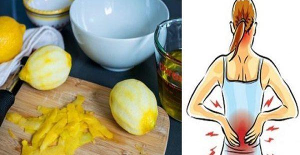 Πόνος Στις Αρθρώσεις; Η Φλούδα Του Λεμονιού Έχει Τη Λύση!